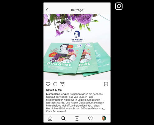Instagram-Beitrag Blumenland Engler