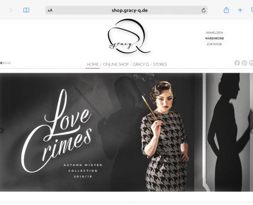 Gracy Q: Website