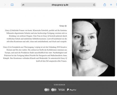 Gracy Q: Vorstellung der Designerin Anne Kämpfe