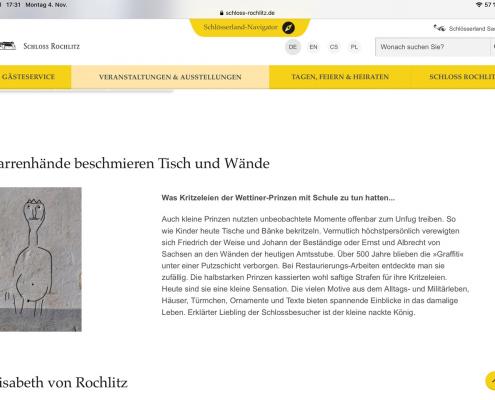 Schloss Rochlitz Dauerausstellung: Fett, einäugig, revolutionär