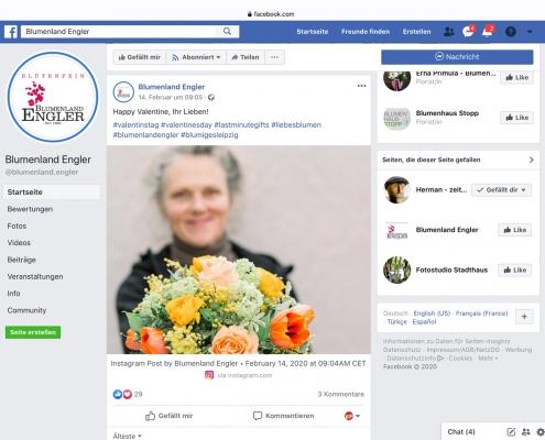 Facebook: Blumenland Engler