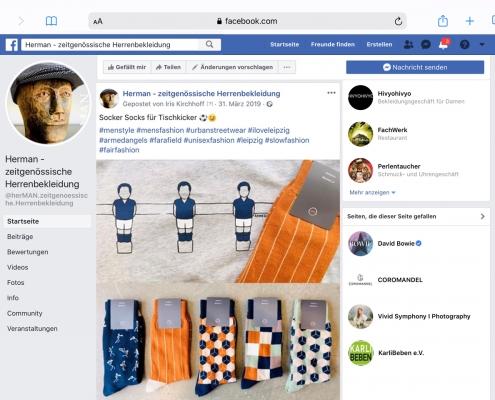 Facebook-Account herMAN