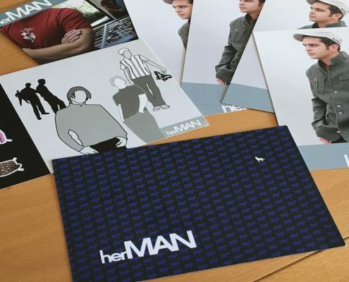 Werbepostkarten von herMAN