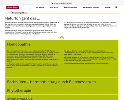 Website: Sonnen-Apotheke