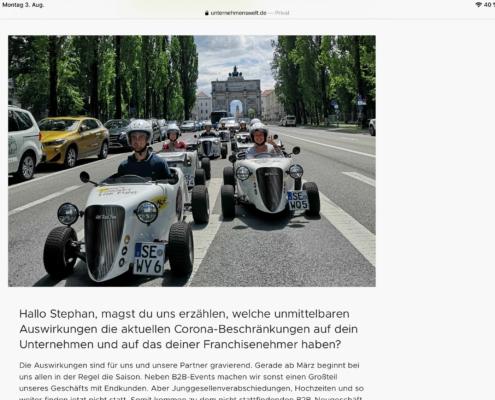 Mutmacherstory: Interview mit Stephan Bredenkamp